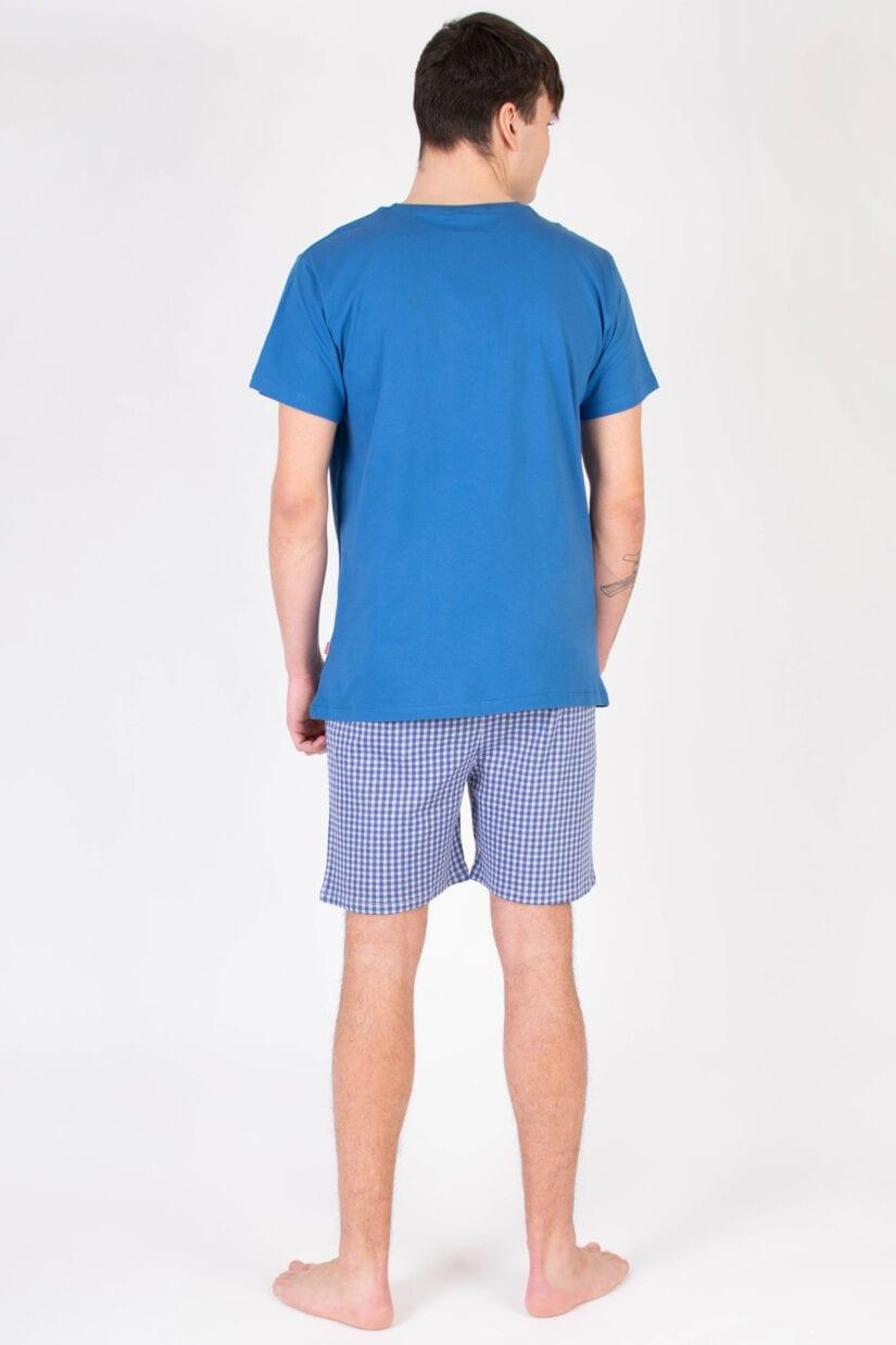 Piżama męska AWAKE bawełniana krótki rękaw i szorty