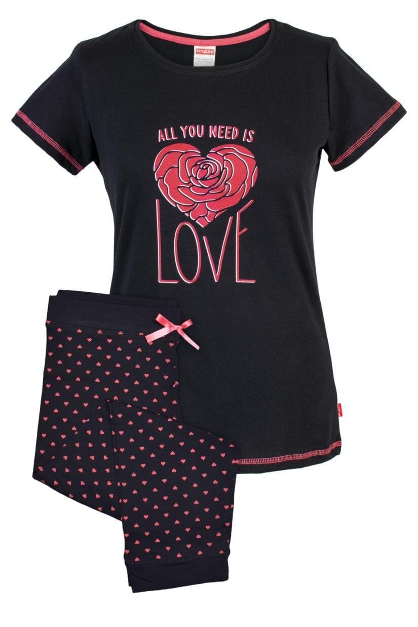 Piżama krótkie spodnie ALL YOU NEED IS LOVE