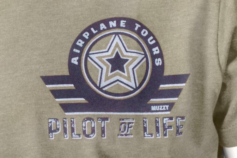 Piżama męska oliwkowa Pilot