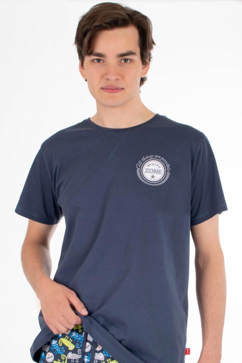 Piżama męska KAMELEON szorty koszulka